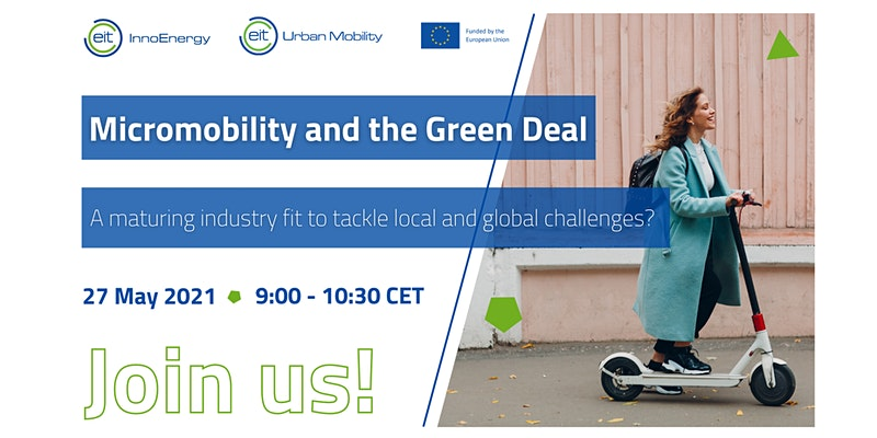 Micromobility & EU Green Deal banner